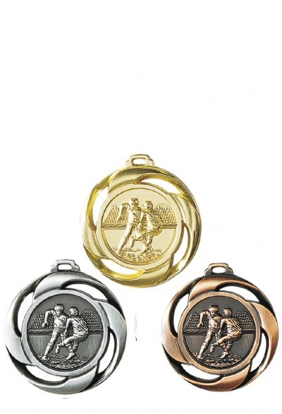 Médaille 40mm Rugby - NF09